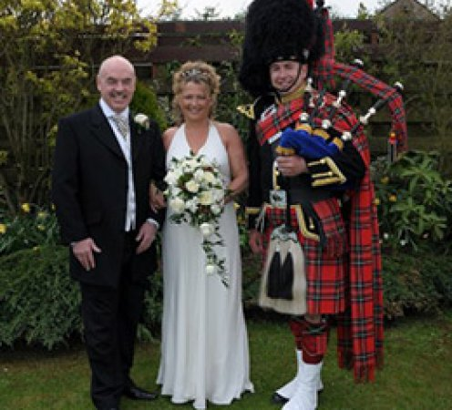 Celebrity Weddings at The Mill forge near Gretna Green
