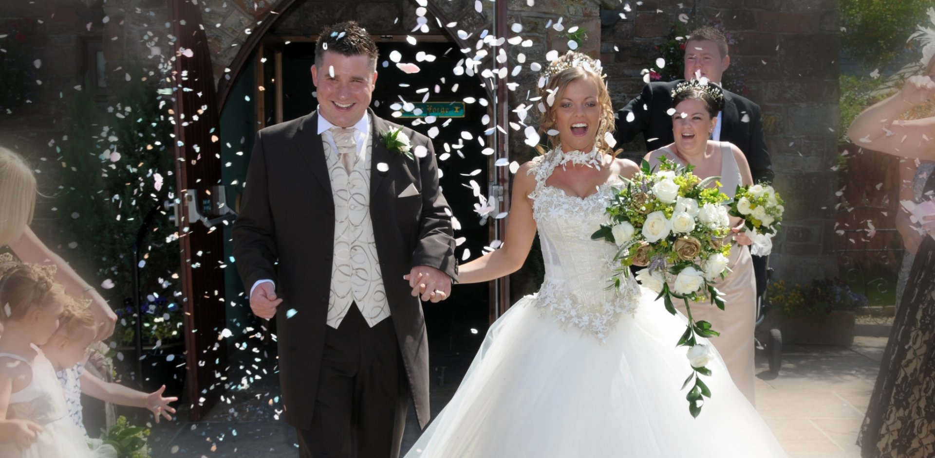 Wedding Venues for Yorkshire Brides - The Mill Forge Hotel near Gretna Green