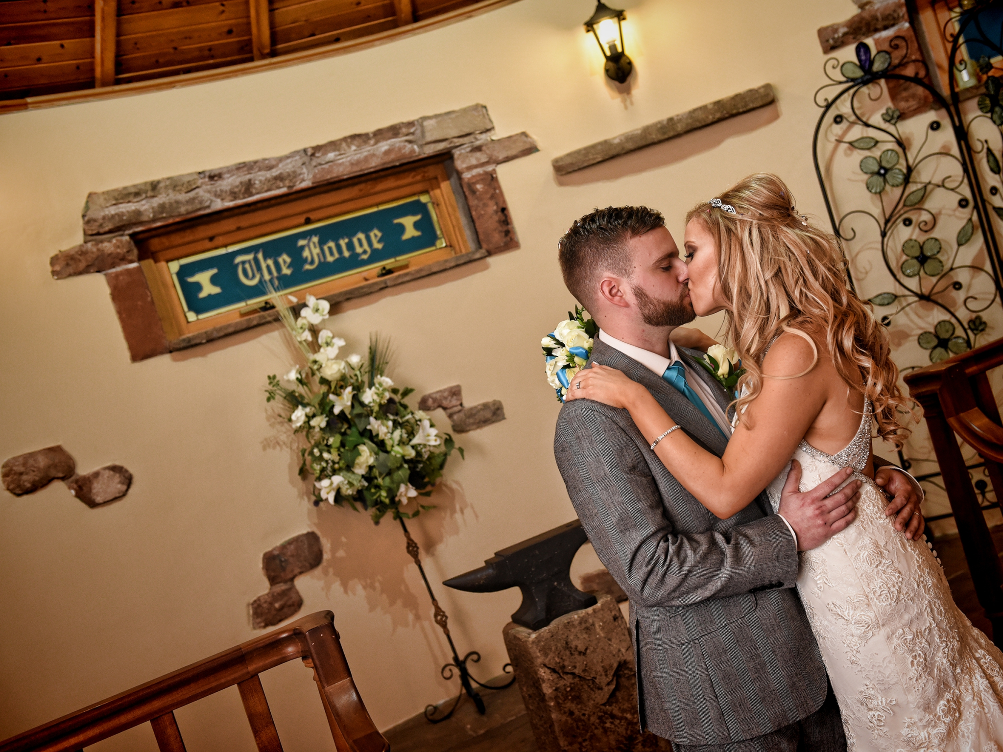 Gretna Green Weddings at The Mill Forge Hotel and Wedding Venue near Gretna Green
