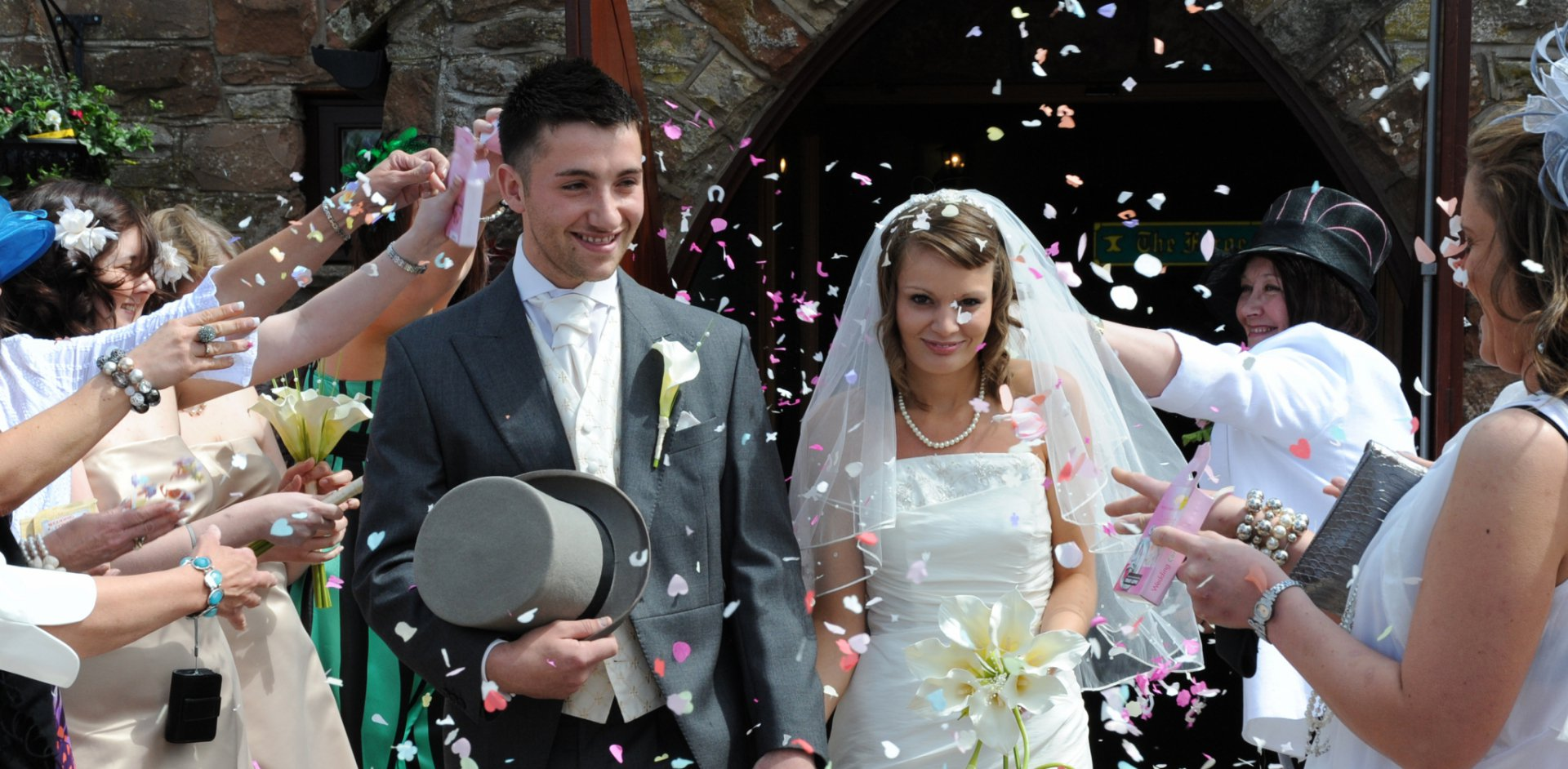 Budget Places to Get Married - The Mill Forge Hotel near Gretna Green