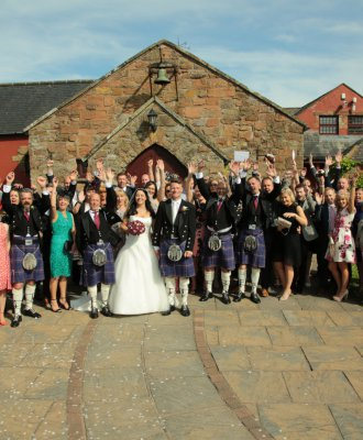 Exclusive Use Wedding Venues - The Mill Forge near Gretna Green