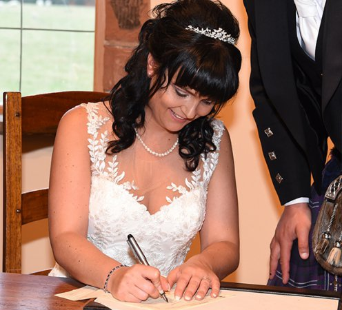 Civil Wedding Ceremonies at The Mill Forge Hotel near Gretna Green
