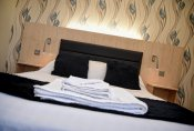 Double and twin accommodation at The Mill Forge Hotel near Gretna Green
