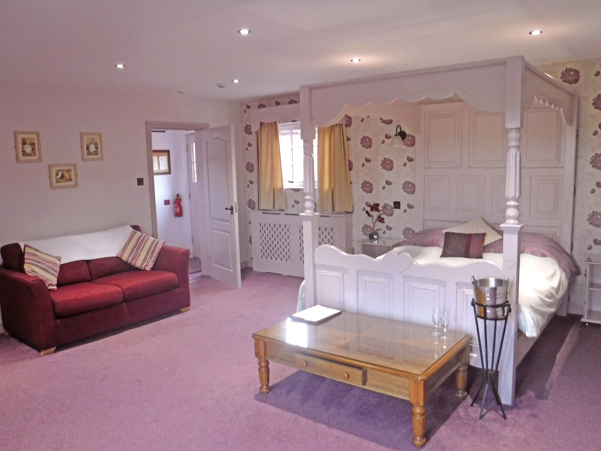 Bridal Suites at The Mill Forge Hotel near Gretna Green