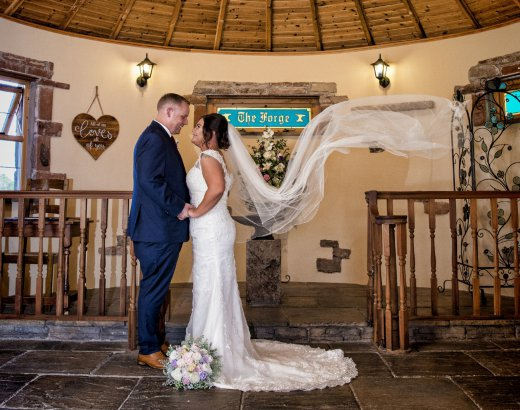 Last Minute Places to Get Married - The Mill Forge Hotel near Gretna Green