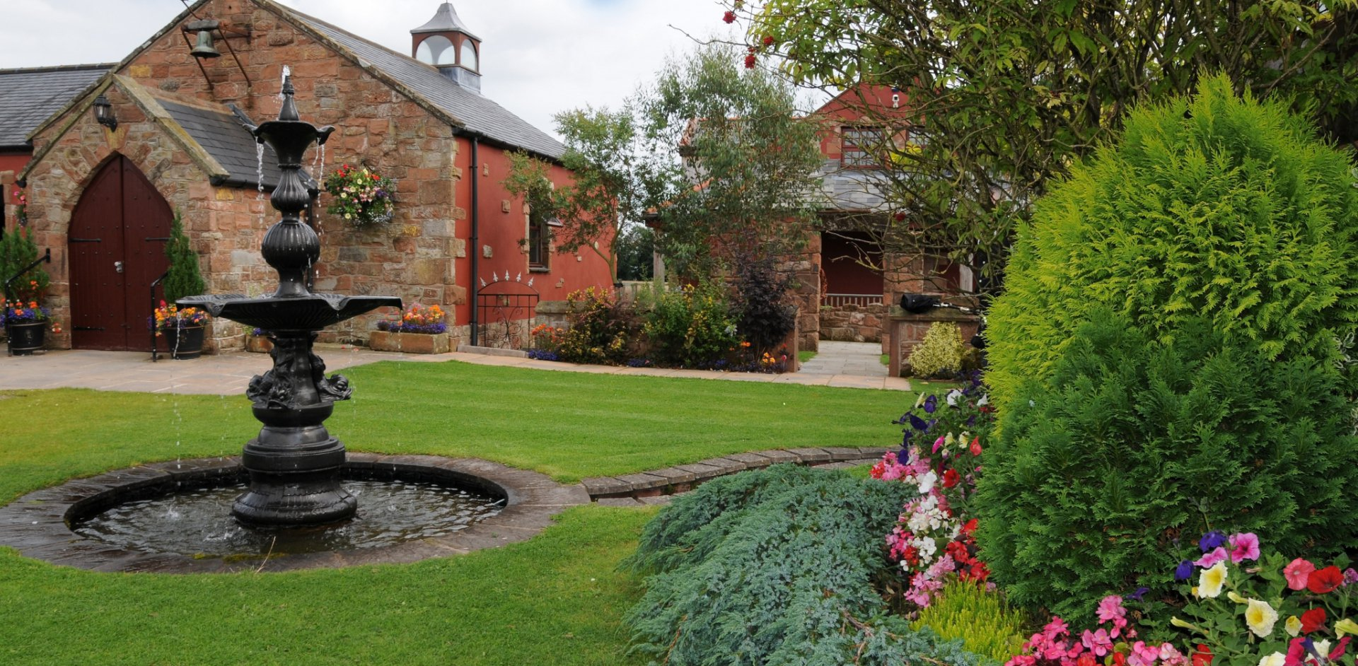 Unique Places to Get Married - The Mill Forge Hotel near Gretna Green