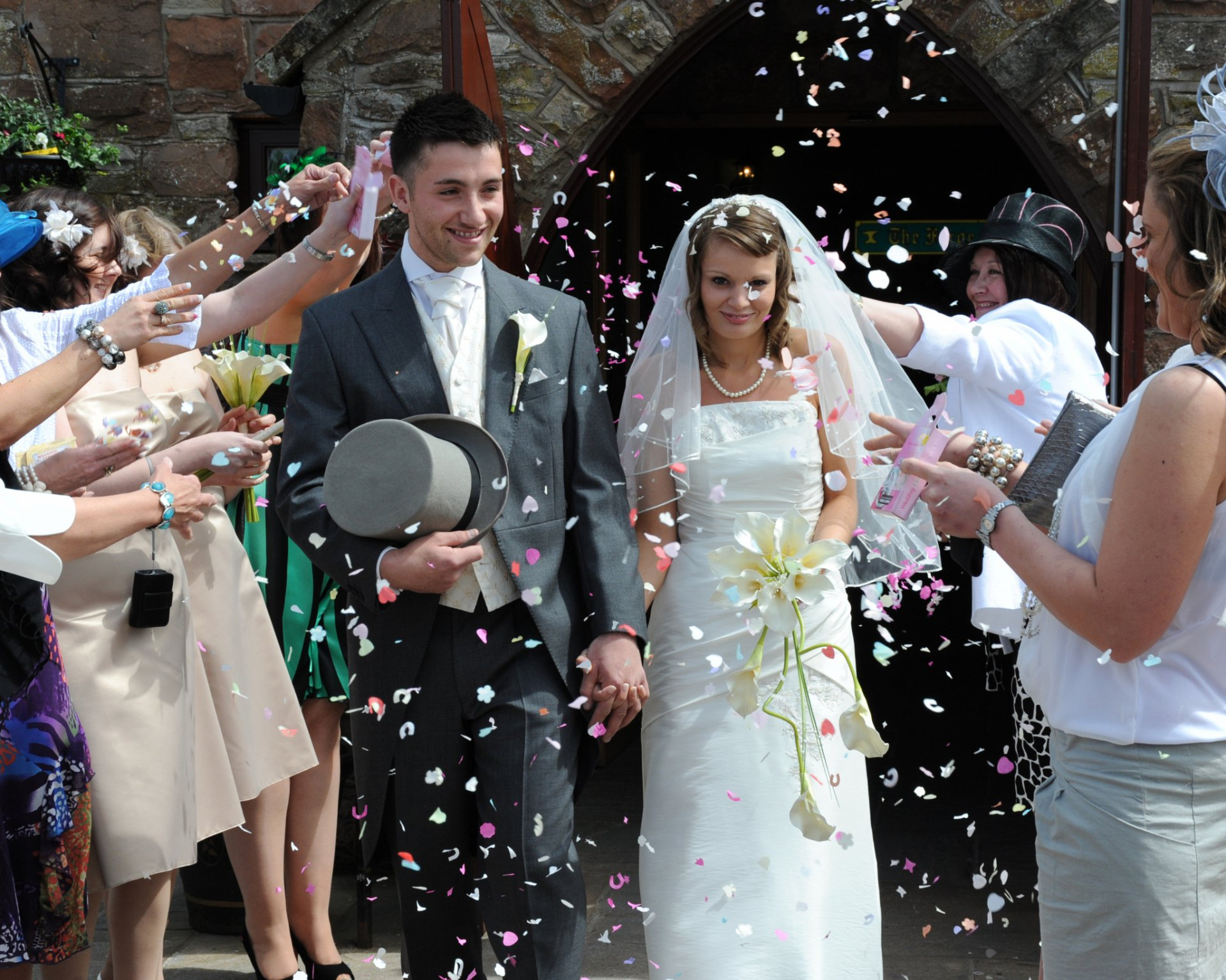 Venues to Renew Wedding Vows - The Mill Forge Hotel near Gretna Green