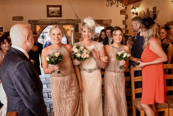 Simple Weddings at The Mill Forge Hotel near Gretna Green