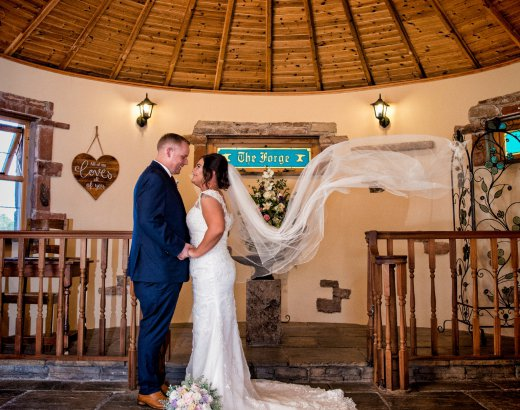 Unusual Weddings at The Mill Forge Hotel and Wedding Venue near Gretna Green