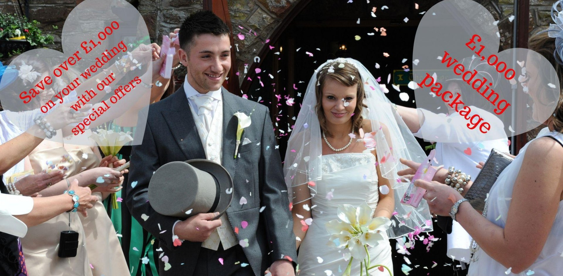 Weddings at The Mill Forge Hotel near Gretna Green in Scotland